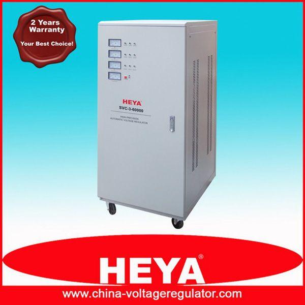 Vertical Type Three Phase High Accuracy AC Voltage Regulator