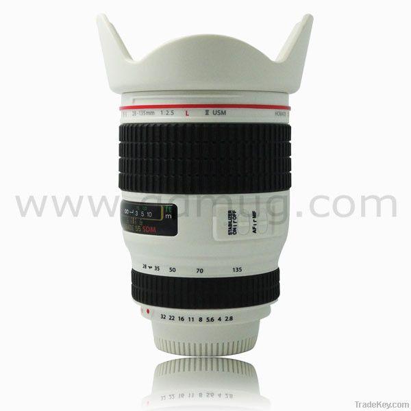 New design camera mug coffee mug camera lens