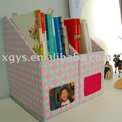 recyclable paper book stand