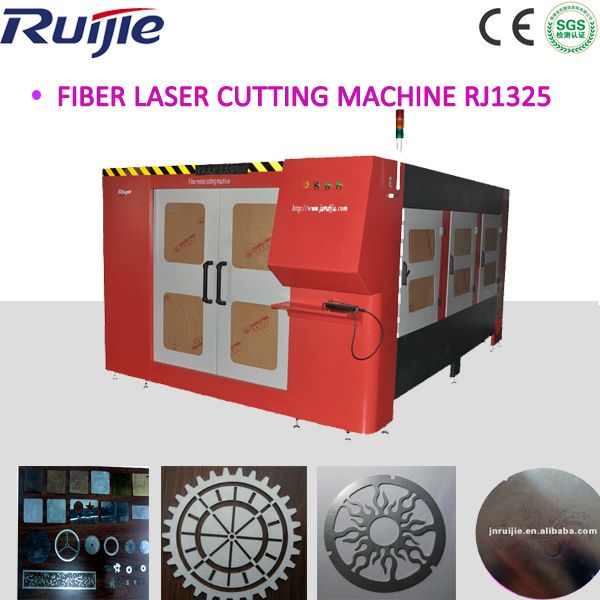 RJ1325-400W Fiber Laser Cutting Machine