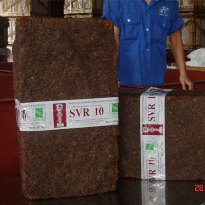 Natural Rubber: SVR 3L, SVR 10, SVR 20, CV50, CV60, Latex (HA, LA), RSS3