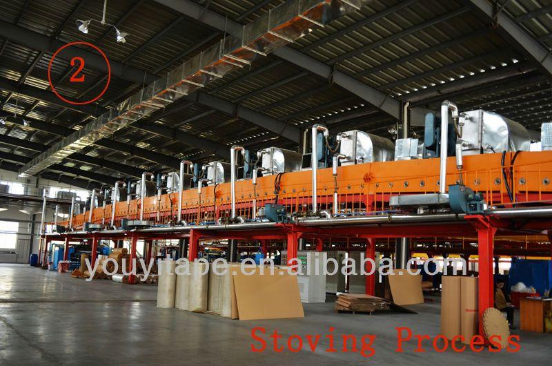 China Factory Acrylic Clear BOPP Tape Adhesive (YY-5461)