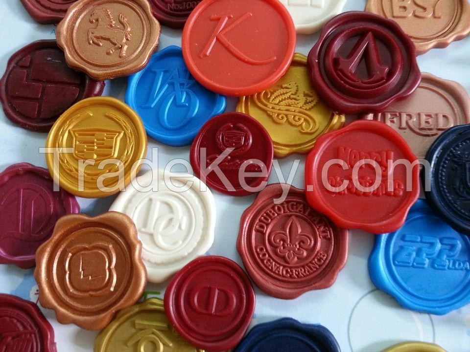 hot selling and high quality wax seal sticker