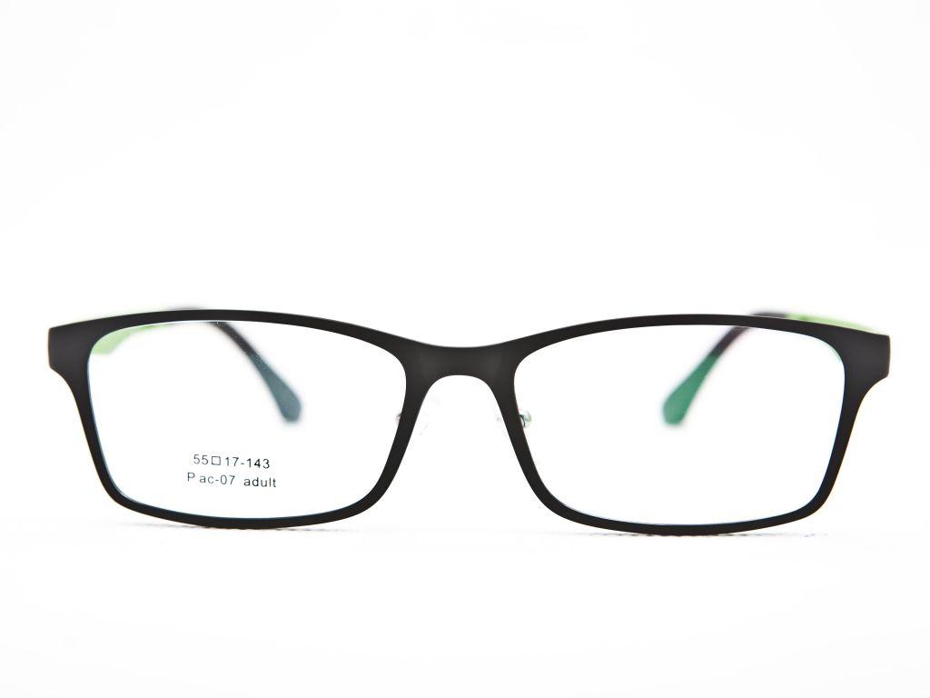 Plastic Titanium Men Eyeglasses