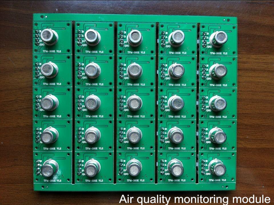 Air quality/odor monitoring module
