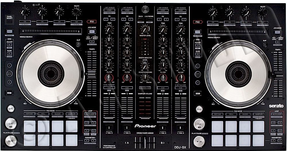 DIGITAL PERFORMANCE DJ CONTROLLER SERATO 4-CHANNEL MIXER DDJSX