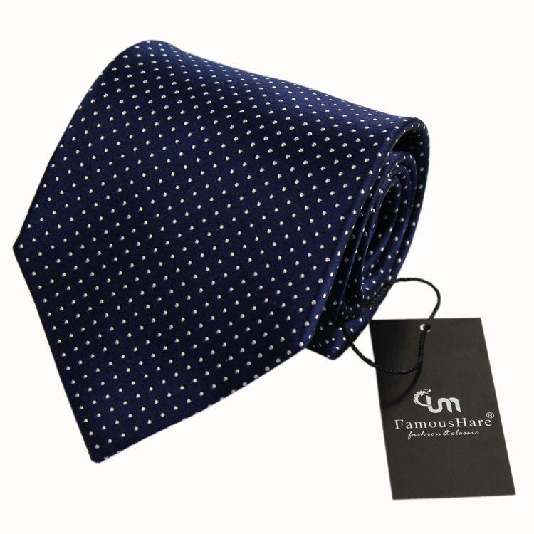 high quality custom men's 100% silk necktie