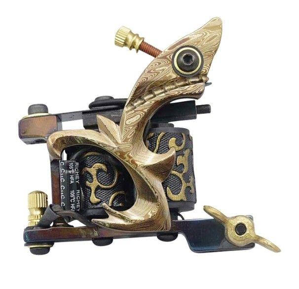 Professional Top High Quality Damascus Tattoo Machine  E-3