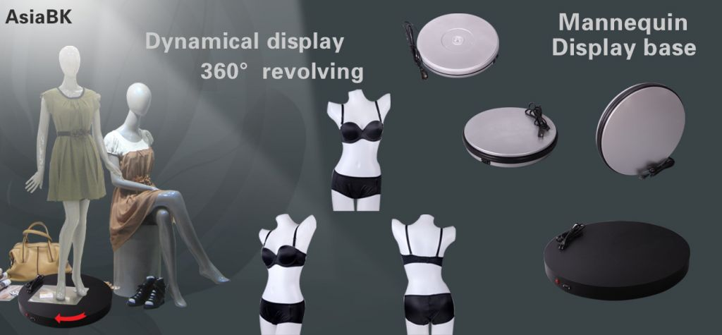 16inch 360 degree rotating electric display turntable stage for mannequins