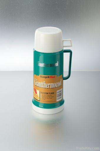 plastic vacuum water bottle vacuun thermos