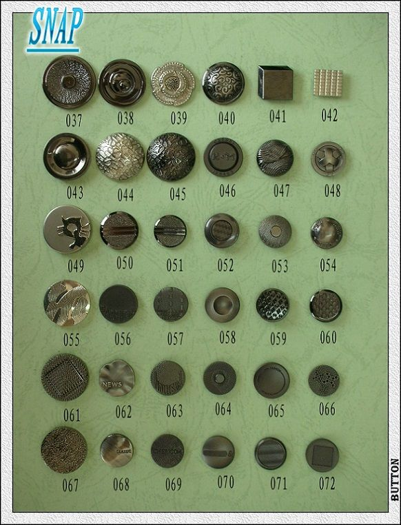 Metal Snap Buttons - Plastic Buttons