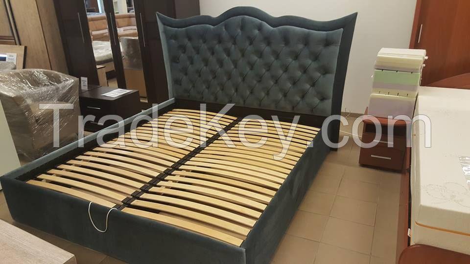 Soft bedroom bed