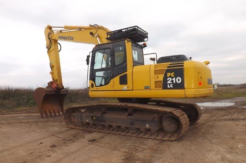 2010 Used Komatsu PC210LC excavator
