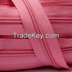 polyester zipper roll , nylon zipper, cfc zipper, plastic zipper