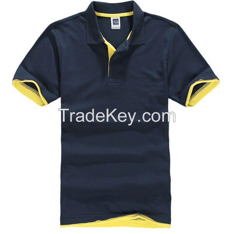 New Men's Cotton Casual Sports Polo Shirt Short Sleeve T-shirt Tee Blouse Tops
