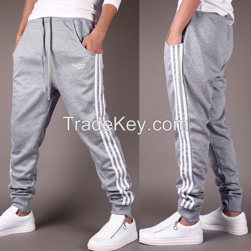 Mens Trousers Sweatpants Harem Pants Slacks Casual