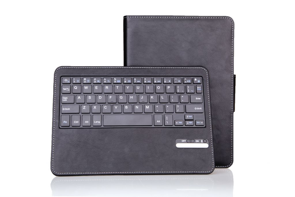 For 2014 10.1 inch P600 Samsung Galaxy note Magnet Detachable ABS Bluetooth Keyboard Case, rechargeable keyboard
