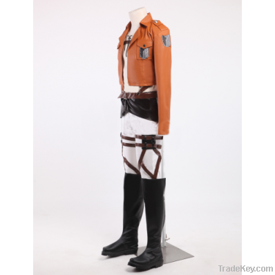 Attack on Titan the Recon Corps Uniform Outfits Cosplay Costume