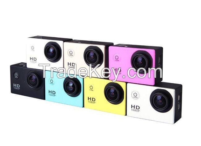 sj4000 30M Underwater Waterproof Full HD 1080p Video Helmet cam Sport Cameras Sport DV