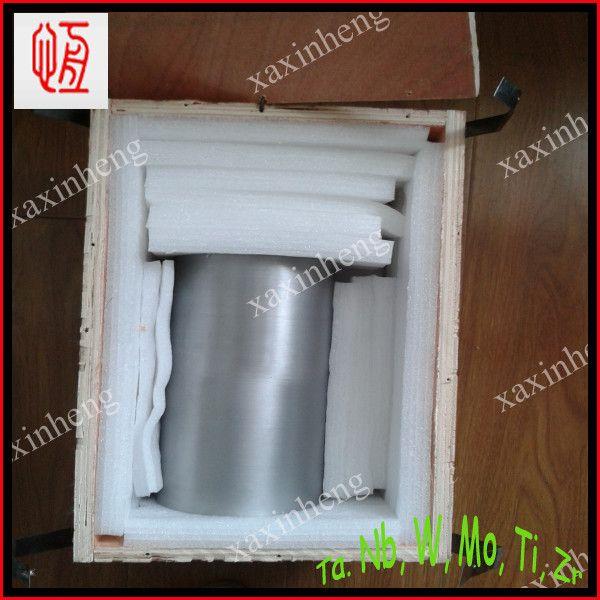 ASTM B 760 Grade W1 high quality purity 99.95%Tungsten crucible