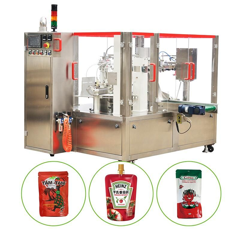 Canned Tomato Paste /Ketchup/Tomato Sauce/Sachet/Packing Machine- Turn
