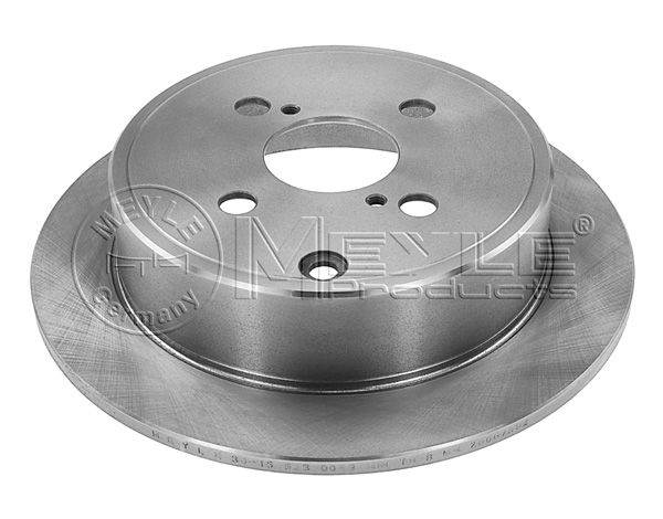 Rear brake discs for Toyota Corolla made by leading german manufacturer 42431-02070
