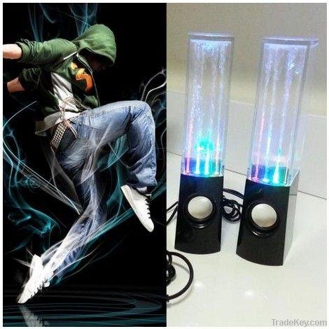 Fountain Speakers Led light Water Dance Speaker, USB Portable Computer Amplifier loudspeaker large water dancing speakers