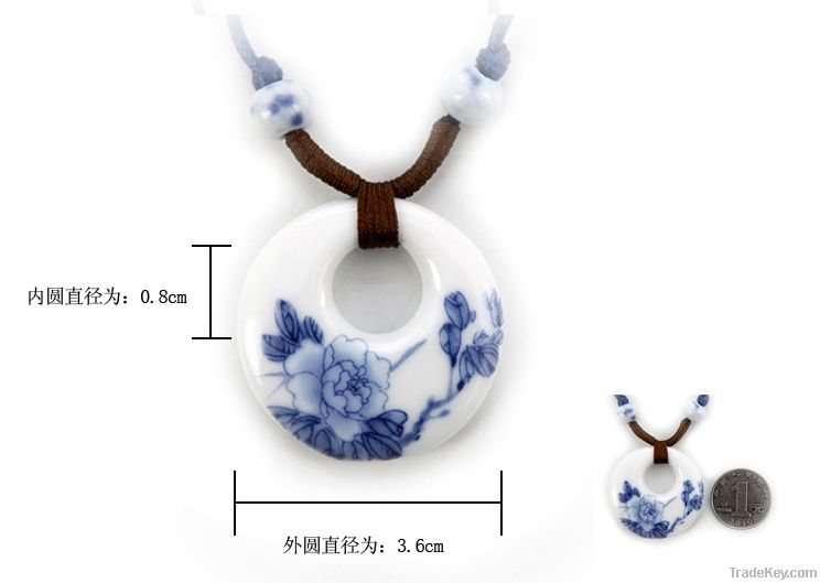 Ceramic Ring Necklace