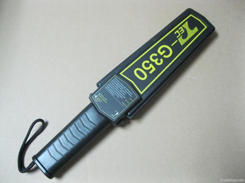 Airport handheld metal detector