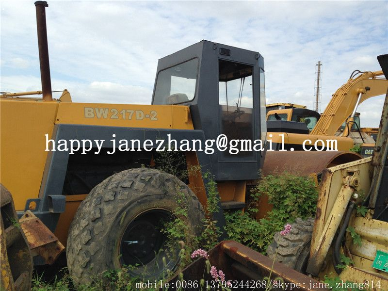 Used Bomag Road Rollers BW217D-2