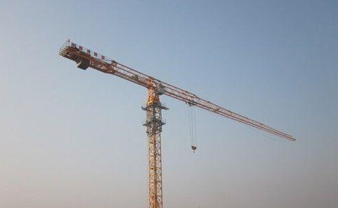 Sell tower crane TCP6015-8 QTZ125P 8 tons Stone Bolt Fixing Type Flat Top  40m Lifting Height