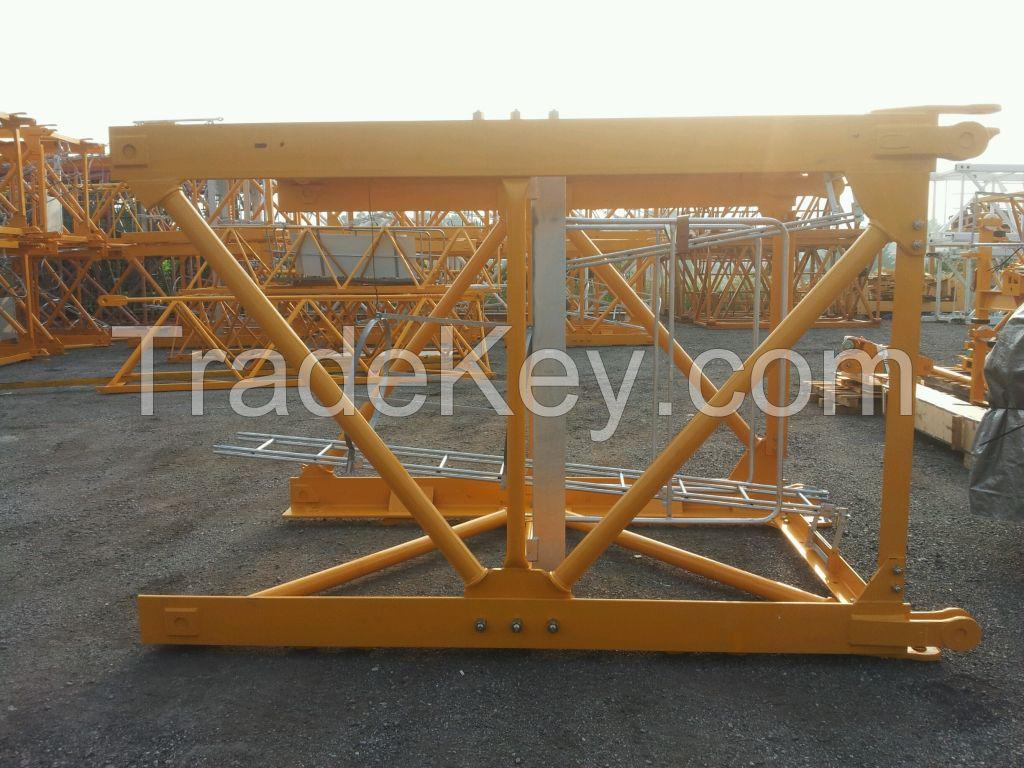 Tower Crane Mast Section Q345B Steel Exchangeable Crane Spare Part L68