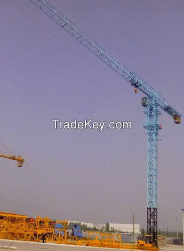 Sell Tower Crane TC7520-16 (QTZ250)12 Tons Q345B Steel Hammer Head  183m For Power Stations