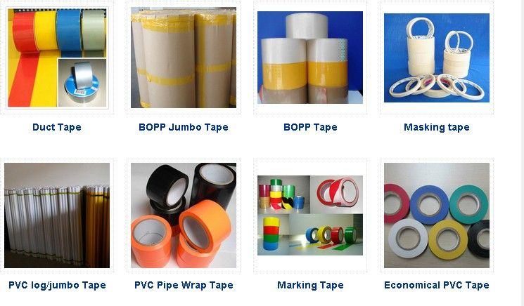 BOPP TAPE/ PVC TAPE /MASKING TAPE /DUCT TAPE