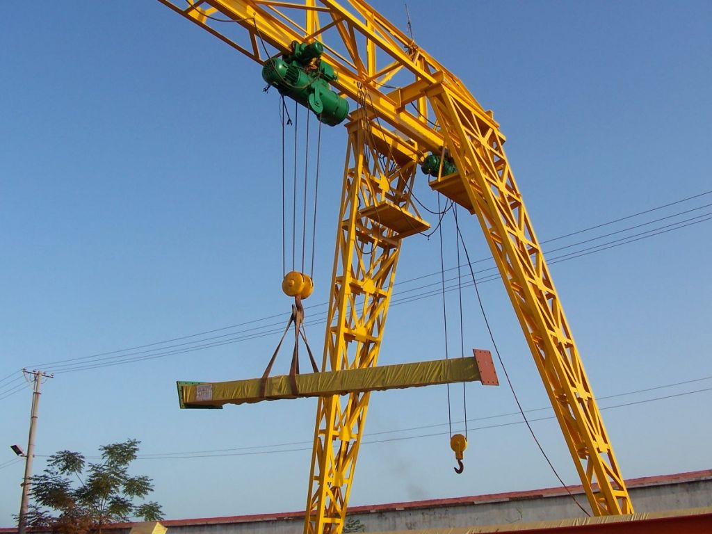 Single Girder Gantry Crane with Top Quality and Best Price for Sale