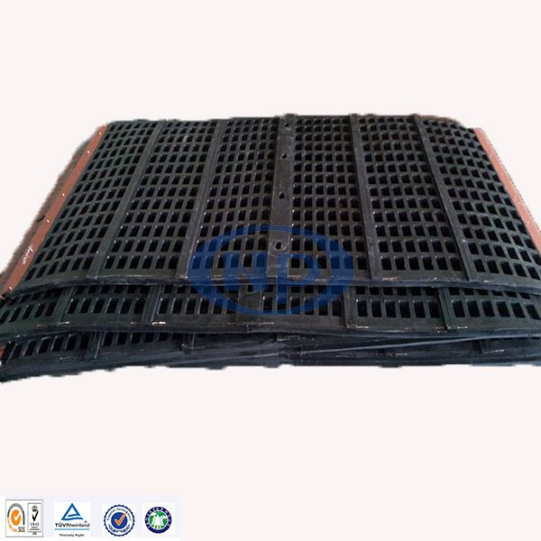 Chinese Professional Manufacturer Vibrating Rubber screen for Mining