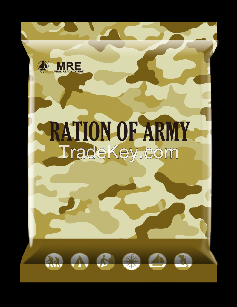 MRE, Meal ready to eat, Instant food, self heating food