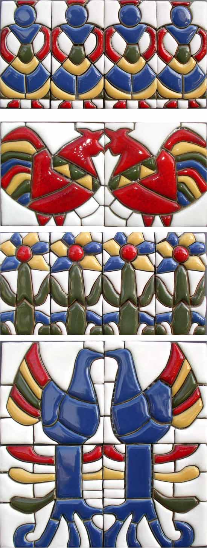 Hand-Made Ceramic Decors