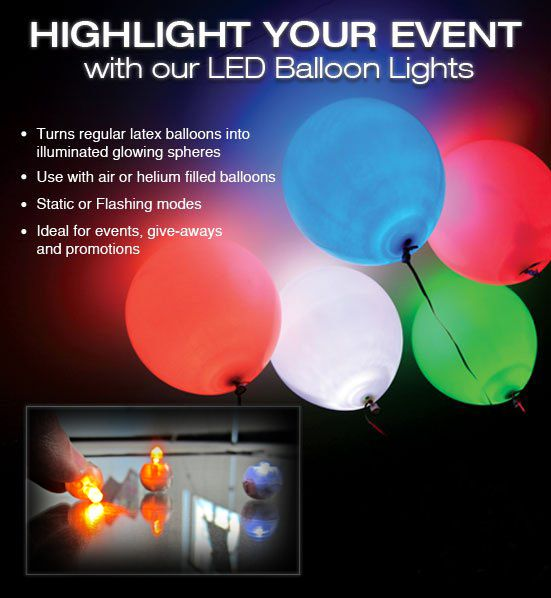 2014 hot products led balloon for party decoration