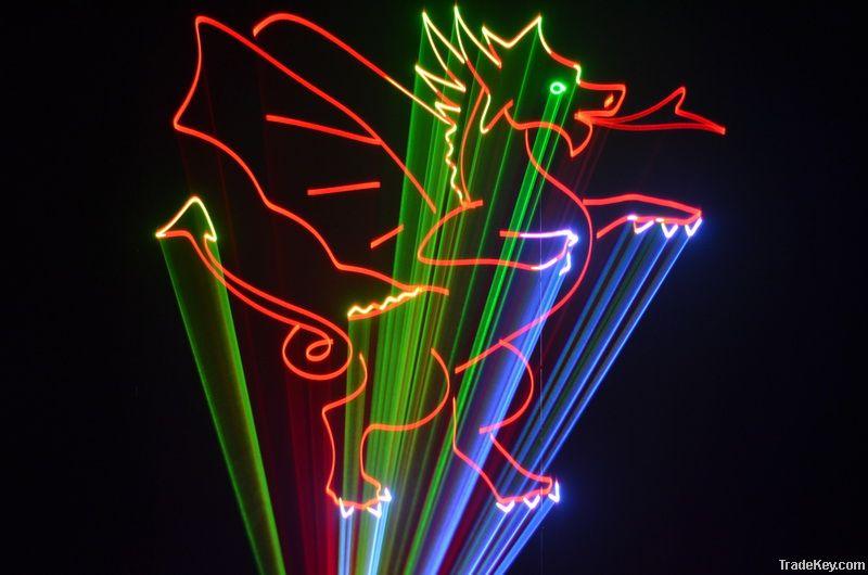 A24/6-10W RGB CARTOON LASER