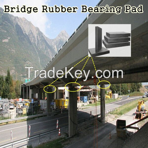 Bridge Neoprene Rubber Bearing Pad