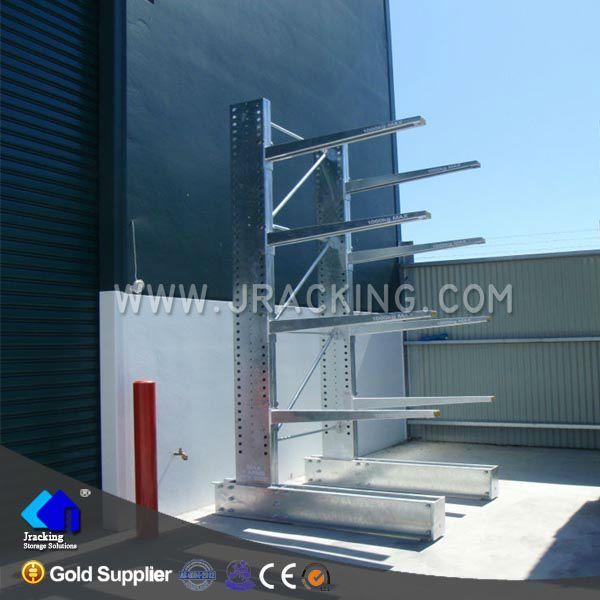 Outside hot galvanizing large capacity single-side cantilever racking