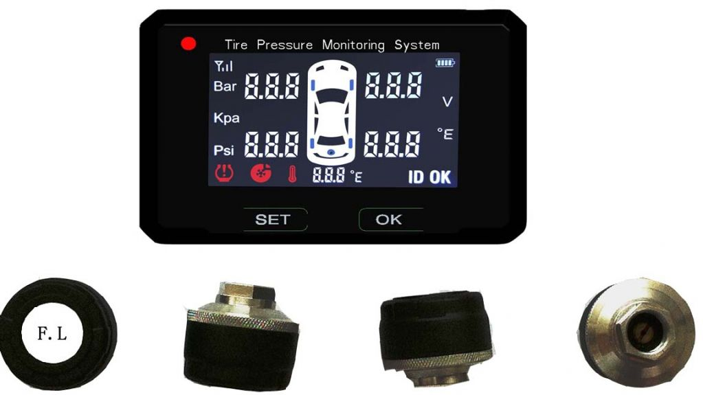 Car Use TPMS(Tire Pressure Monitoring System)