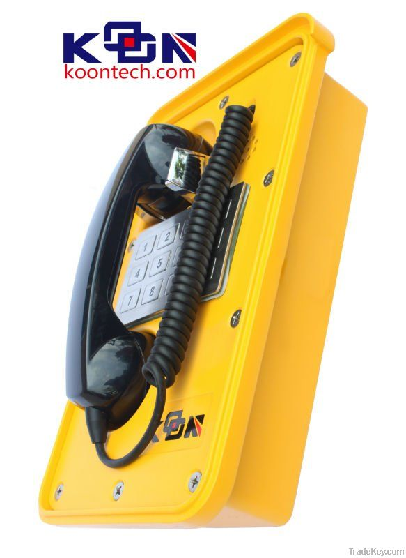 Paging System, Intercom System Koontech waterproof telephone KNSP-11