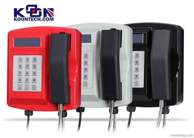 Tunnel telephone KNSP-18 tracksite telephone system solution