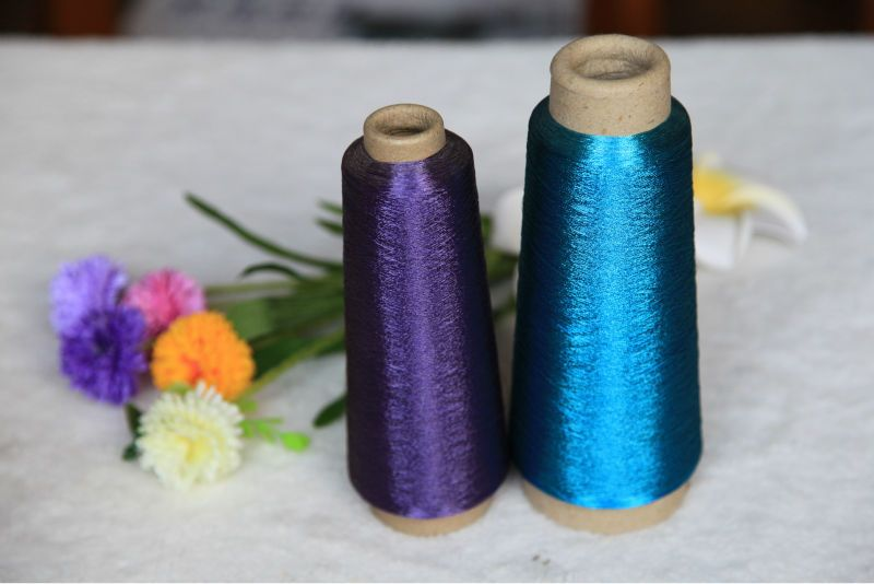 peacock ST/MS metallic yarn for embroidery