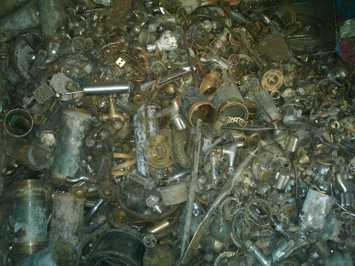 Brass Scrap - Honey and Ebony