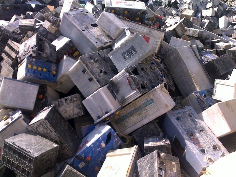 Drained/Dry Whole Intack Lead Acid Battery Scrap, ISRI RAINS