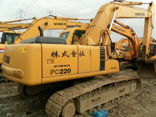 used excavator PC220-6,second hand komatsu excavator