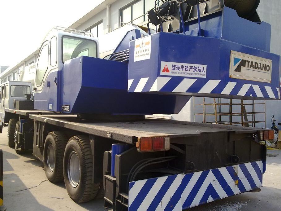 used TADANO 55ton truck crane,second hand mobile crane